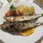 Hotel Miramar - 夕食/いわしのグリル