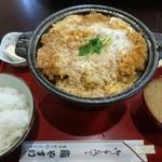 やすけ鮨 - ロースかつ鍋定食