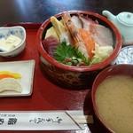やすけ鮨 - 海鮮ちらし定食