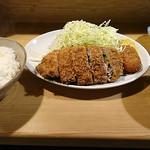 富善 - スタミナロースカツ定食