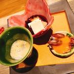 シャンパン&ワインと熟成鮨 Rikyu -