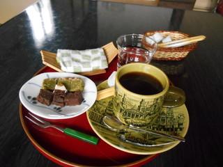 普段着きものカフェ サダ子さん - 本日のミニおやつセット♡