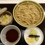 花小路 さわ田 - 2017.03 〆は蕎麦