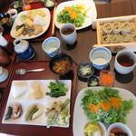 そばの郷 アブザカ - 料理