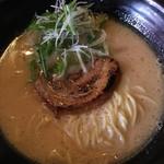 ちょんまげ食堂 ラーメン部 - 鶏白湯醤油ラーメン☆★★☆