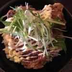 ちょんまげ食堂 ラーメン部 - 名物らしい☆★★☆鶏唐揚丼