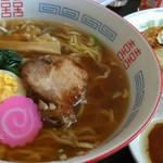 食事処まさ亭 - お子様ラーメン&肉餃子