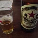 餃子酒家 照井 - 瓶ビール