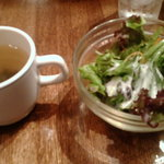 レザミ - レザミ スープとサラダ