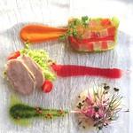 ディアーナ - 春をイメージした前菜たち