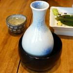 寿司 高瀬 - 中屋ぬる燗800円+税