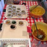 ブーランコ - 小鉢です。ゼリーと惣菜各2種類ありました。