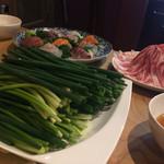ねぎ屋さんのねぎ焼き - 料理写真: