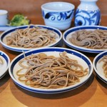 渚庵 - 料理写真:皿そば