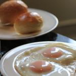 名古屋マリオットアソシアホテル - 卵の焼き加減がパーフェクト!