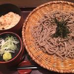 そじ坊 - ざる蕎麦定食☆★★☆