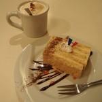 Le Cafe RETRO - 今はラテアートはやってないそうです