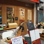 バル OTTO - お向かいは、魚の「海路」、イタリアンの「パスタバル」、鮨の「神和」、行ったことのあるお店ばかりです(2017.3.20)