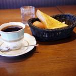 支留比亜珈琲店 - 料理写真:グアテマラ&モーニングセット~☆