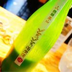 全国各地の日本酒100種類飲み比べ時間無制限 KURAND SAKE MARKET - どろどろ濁原酒