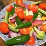 64209045 - 鎌倉野菜と湘南野菜の合体サラダ
