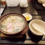 土佐麺処 康 - 土佐麺処 康 TOSA NOODLES DINING YASU(特製鍋焼きラーメン)