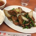 64212902 - 上海港(レバー炒め定食)