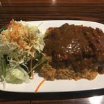 レストランポム - サラダ&カレーピラフ