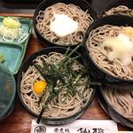 手打蕎麦 仙松 - 料理写真:五段せいろ 1,360円