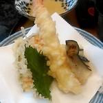 でかねた寿司 - 天ぷら