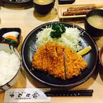 とん亭 - ヒレかつ定食