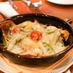 デリツィオーゾ イタリア - モッツァレラチーズと季節野菜のオーブン焼き