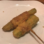 関西の味 串カツ マハカラ - アスパラのベーコン巻き