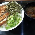 64217778 - 備長炭焼き鰻まぶし丼大盛り(980円)