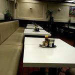 スパゲティ&コーヒー マルコ - またテーブル