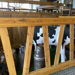 珈琲牧場 - 牛さんの お出迎え ♪