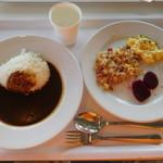 イケア レストラン - カレー\\99- 朝食プレート¥149-