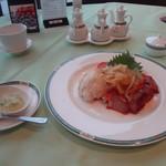 オークラチャイニーズレストラン 桃里 - 三種前菜盛り合わせ(3010円)