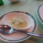 オークラチャイニーズレストラン 桃里 - 三種前菜盛り合わせの ピーナッツ風味ペースト