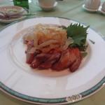 オークラチャイニーズレストラン 桃里 - 三種前菜盛り合わせ