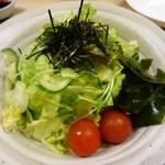 玉造 すし富 - 野菜サラダ