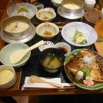 紅葉亭 - 料理写真:「来島の鯛」づくし御膳 2017.3