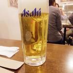 かぶら屋 - 生ビール