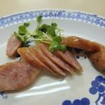 丸玉食堂 - 腸詰め 600円