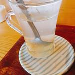 ベビーダ カフェ - ゆずジンジャーティー