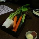津軽の酒処 わたみ - 前菜(お通し二人分)