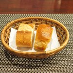 バティチ - Aランチ+カフェ 1000円 のパン