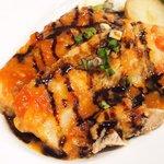 バティチ - Aランチ+カフェ 1000円 の豚バラ肉トマト煮込み
