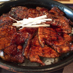 豚どん 白樺 - 豚丼(大盛り)