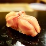 すし蓑 - 料理写真:[2017/03]寿司③ 赤貝の握り